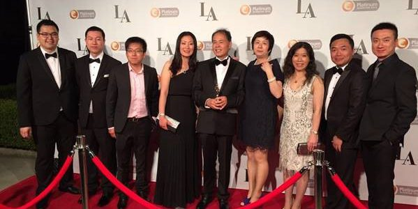 Choice Platinum Award At LA